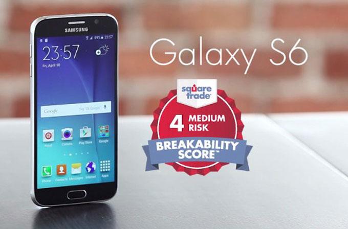 Galaxy S6, rakiplerine oranla daha dayanıklı (VİDEO)