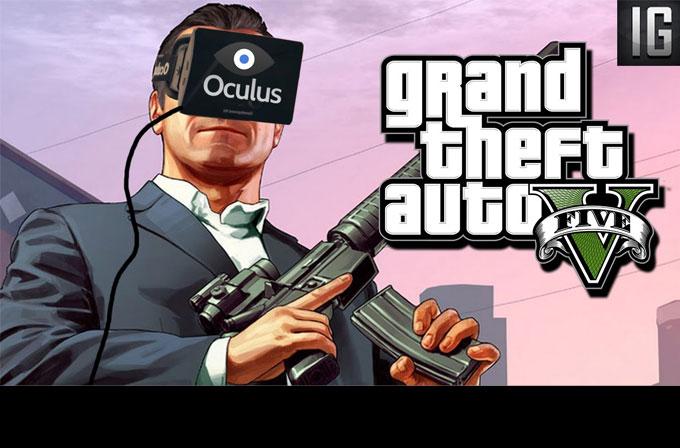 Oculus Rift ile GTA 5 deneyimi