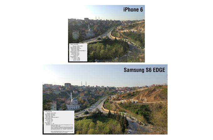 Galaxy S6 Edge ile iPhone 6 kamera kıyaslaması