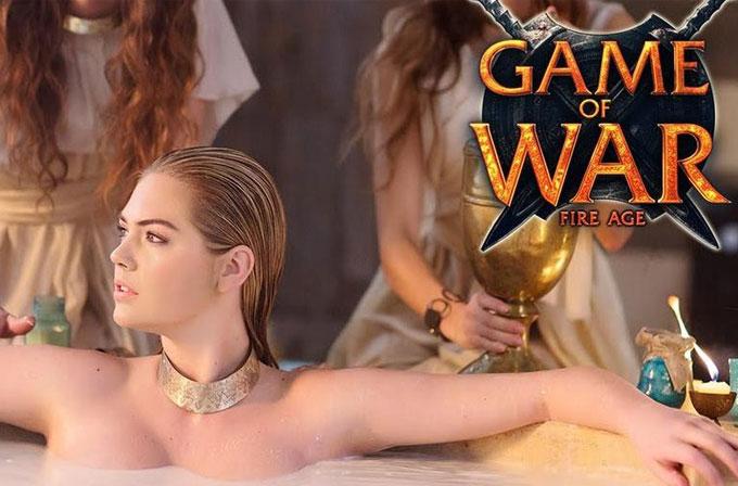 Kate Upton, Game of War'un gelirlerini katladı