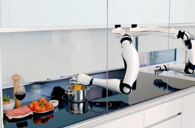 Çok yakında siz uyurken kahvaltınızı robotunuz hazırlıyor olacak