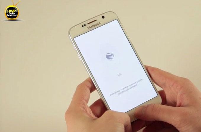Samsung Galaxy S6'nın parmak izi sensörü nasıl çalışıyor?