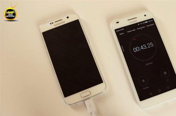 Samsung Galaxy S6'nın hızlı şarj özelliğini test ettik