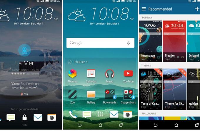 HTC yepyeni temalara kavuştu