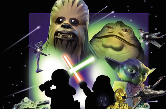 Star Wars posterlerinin LEGO halleri