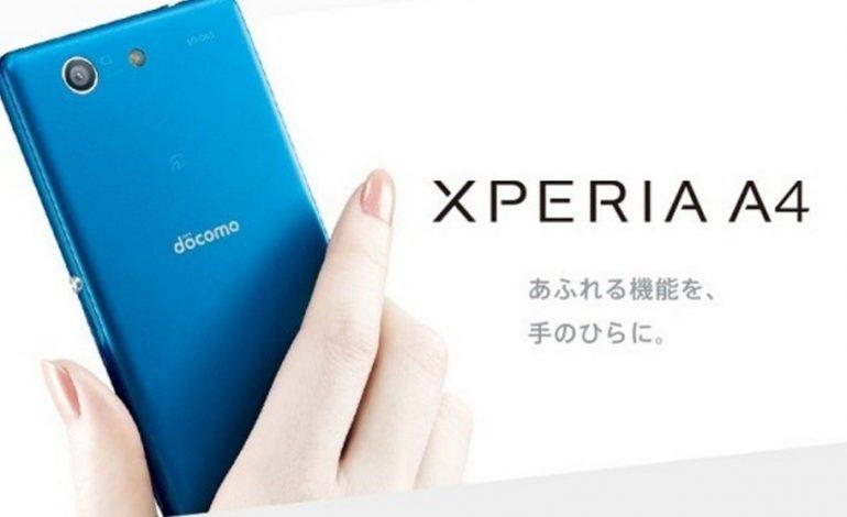 Sony Japonya'da Xperia A4'ü duyurdu