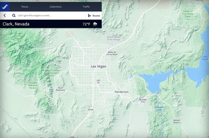 Facebook, Nokia'nın HERE Maps'ini kullanmaya başladı