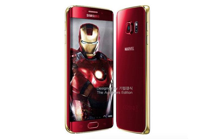 """Samsung, """"Iron Man Edition"""" Galaxy S6 modellerini onayladı"""