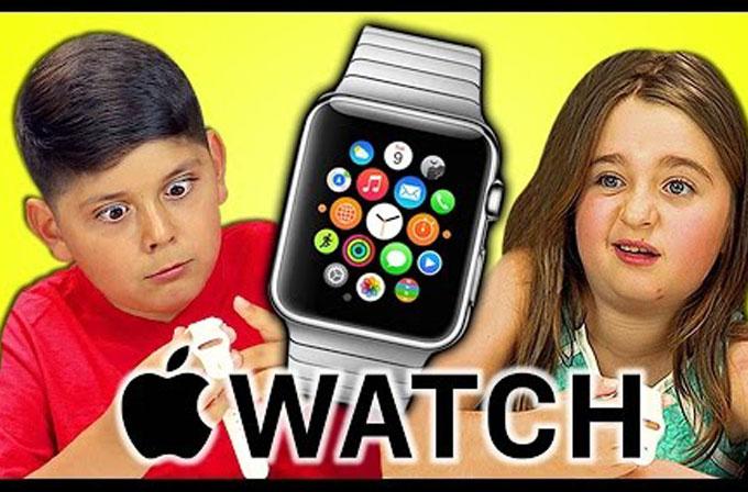 Çocukların ilk kez Apple Watch ile karşılaşması