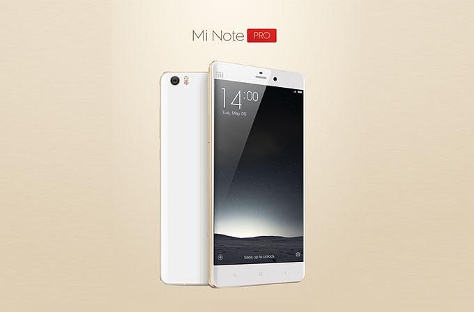 Xiaomi yeni canavarı Mi Note Pro'yu duyurdu