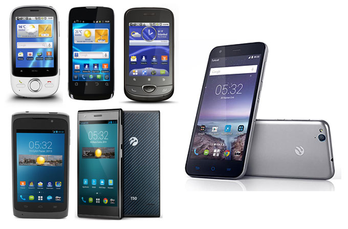 Turkcell T serisi akıllı telefonların karşılaştırması
