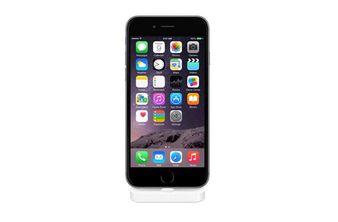 Apple'ın Lightning girişli iPhone dock'u satışta