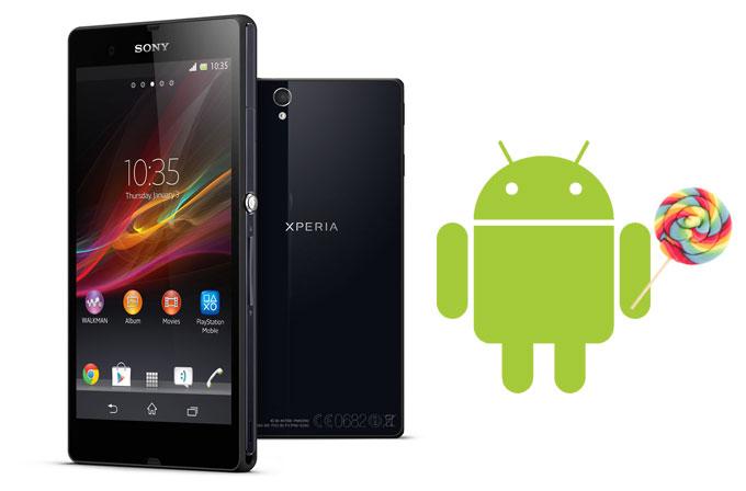 Xperia Z ailesine Android 5.1 temmuz ayında geliyor