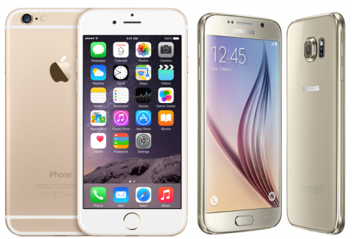 apple-iphone-6-and-samsung-galaxy-s6