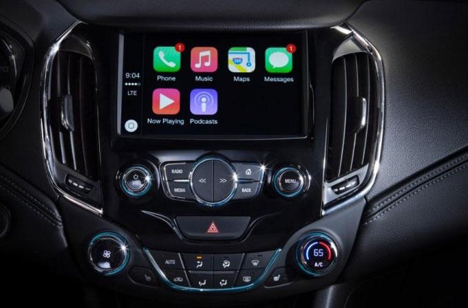Chevrolet'in yeni araçlarında Apple Car ve Android Auto olacak