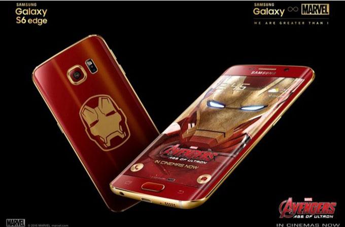Iron Man temalı Galaxy S6 Edge duyuruldu