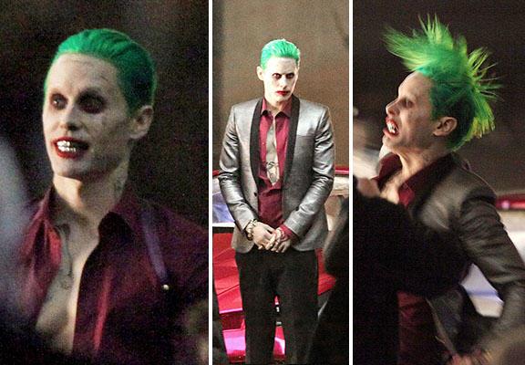Suicide Squad'ın Joker'i nihayet çekimlerde gözüktü