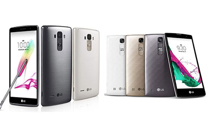 LG'den iki yeni telefon: G4 Stylus ve G4c