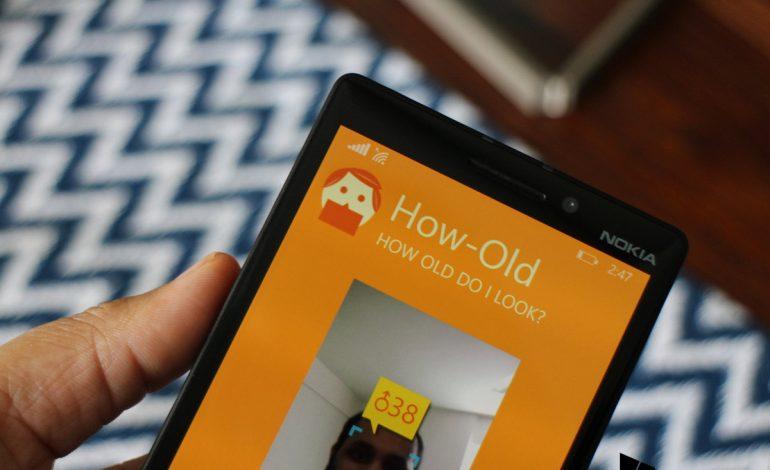 How-Old artık Windows Phone uygulaması oldu