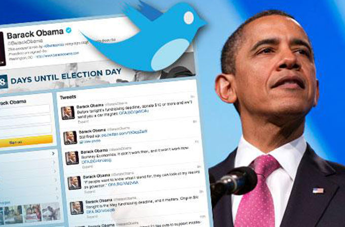 Barack Obama, yeni Twitter hesabıyla rekor kırdı