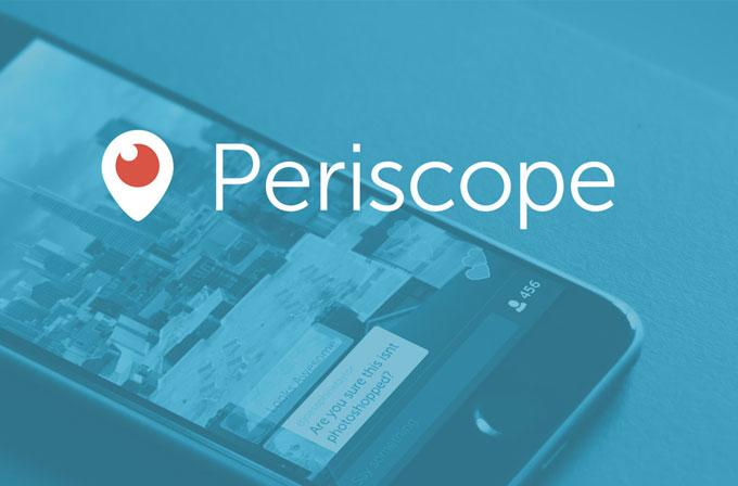 Periscope yayınlarının tekrarları web üzerinden izlenebilecek