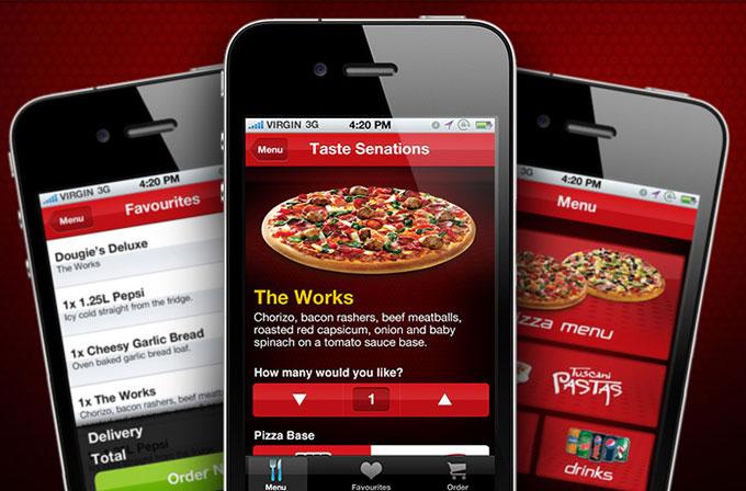 Rehin tutulduğu yerden Pizza Hut'ın mobil uygulamasıyla kurtuldu