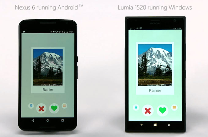 Android uygulamaları Windows 10'a nasıl port edilecek?