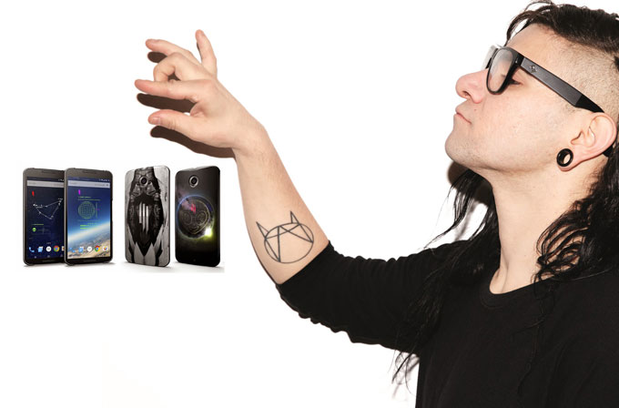 Google'dan Skrillex akıllı telefon kılıfları