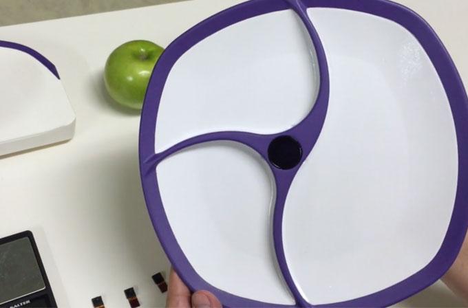 Bu akıllı tabak fazla yemek yediğinizde sizi uyarıyor
