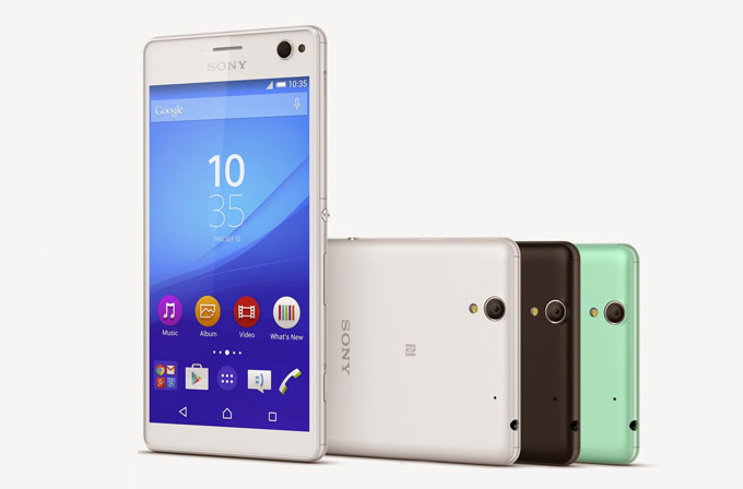 Sony'nin yeni selfie telefonu: Xperia C4