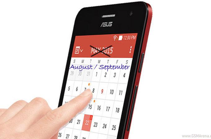 ASUS Zenfone 5'e Lollipop güncellemesi 3-4 ay daha ertelendi