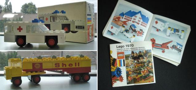 Şanslı adam atılan poşetten 70'lerden kalma LEGO setleri buldu