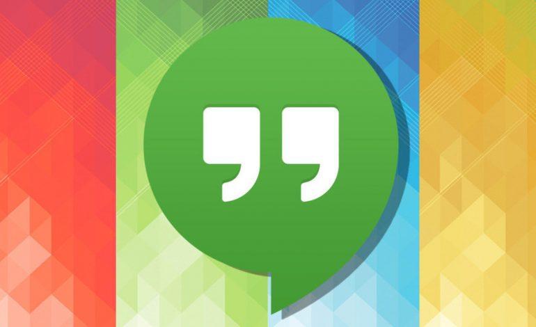 Google Hangouts'un büyük güncellemesi ilk önce iOS'a geldi