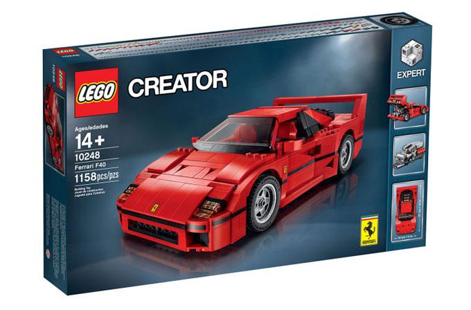 LEGO'nun yeni Ferrari F40 muhteşem görünüyor