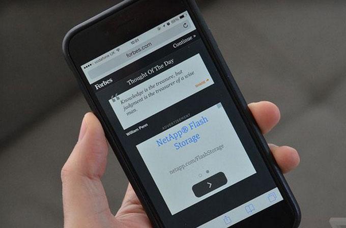 iPhone kullanıcıları iOS 9 ile reklamlardan kurtulacak
