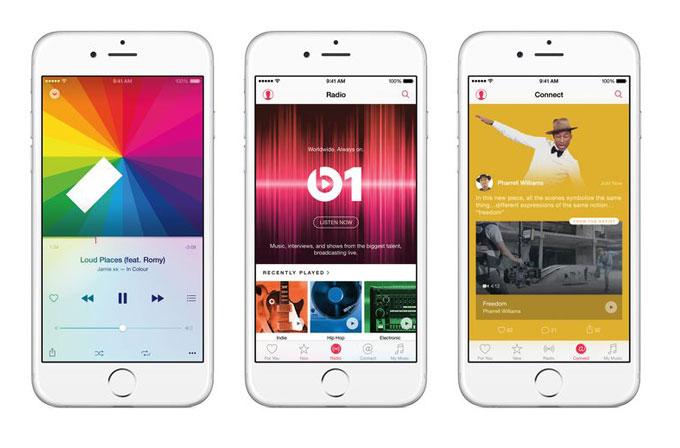 Apple'dan stream müzik servisi: Apple Music