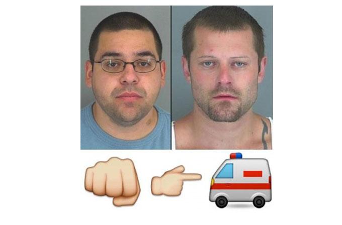 Facebook emoji'si ile tehdit eden iki kişi tutuklandı