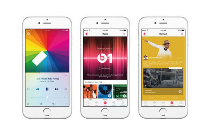 Apple Music'in ücretsiz kullanımı Android'e yok