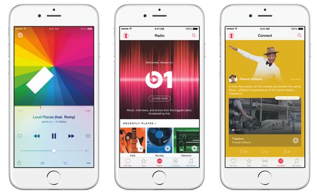 Apple Music gerginliği sona erdi