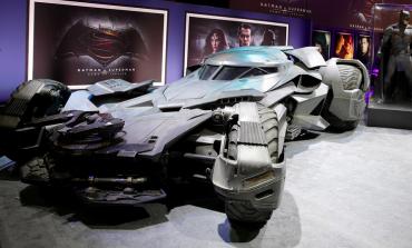 Yeni Batmobile görücüye çıktı!
