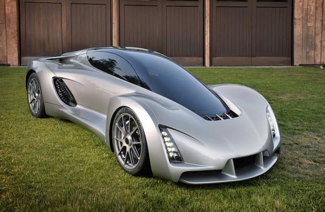 Dünyanın 3D yazıcı ile yapılan ilk süper arabası: Blade