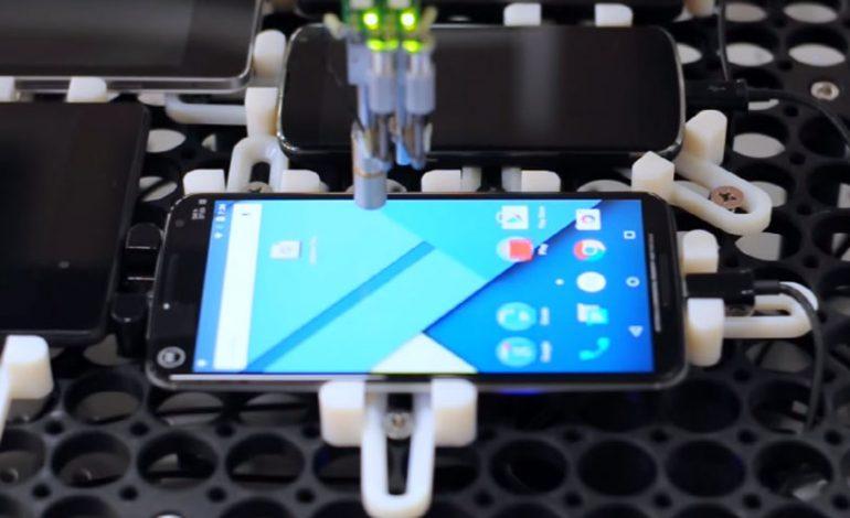 Google, dokunmatik ekranlardaki gecikmelere özel robot yaptı