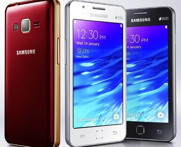 Samsug'un Tizen telefonu Z1, bir milyon satış barajını aştı
