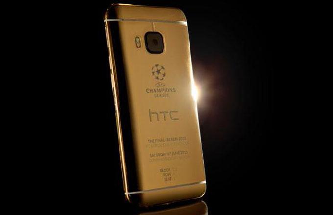 HTC'den Şampiyonlar Ligi finaline özel 24 ayar altın One M9