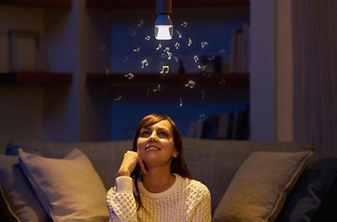 Sony'den müzik çalabilen yeni nesil LED ampül