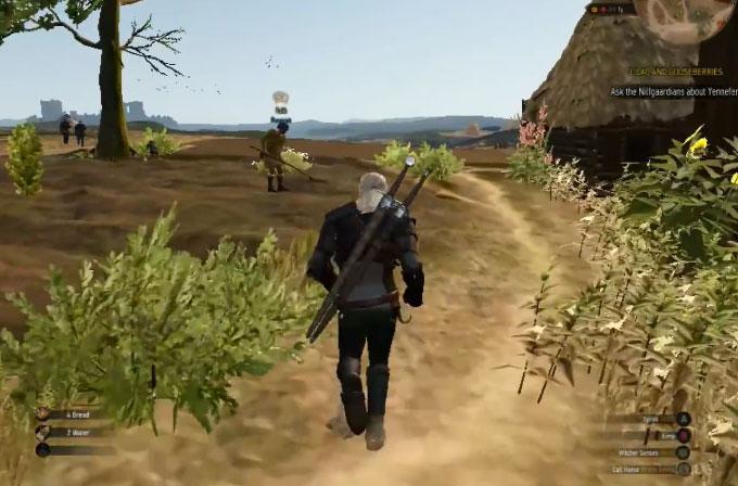 Ultra düşük grafikli Witcher 3 bir PS2 oyunu gibi görünüyor