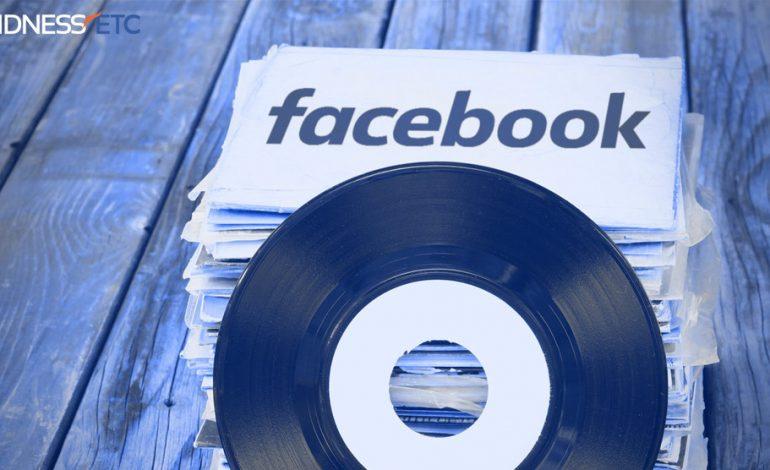 Facebook da müzik yayınına başlamak niyetinde