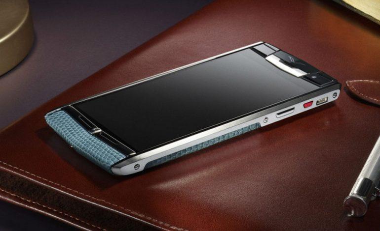 Vertu'nun yeni telefonu Vertu V06'nın teknik özellikleri ortaya çıktı