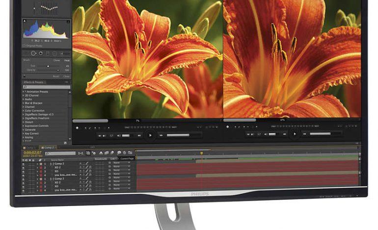 Ultra HD Kalitesinde ve 4K Çözünürlüğe Sahip 32 inçlik yeni Philips Monitör