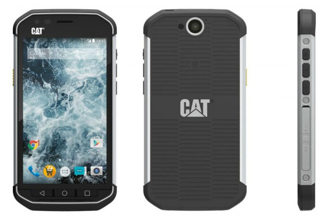CAT'ten taş gibi telefon: CAT S40